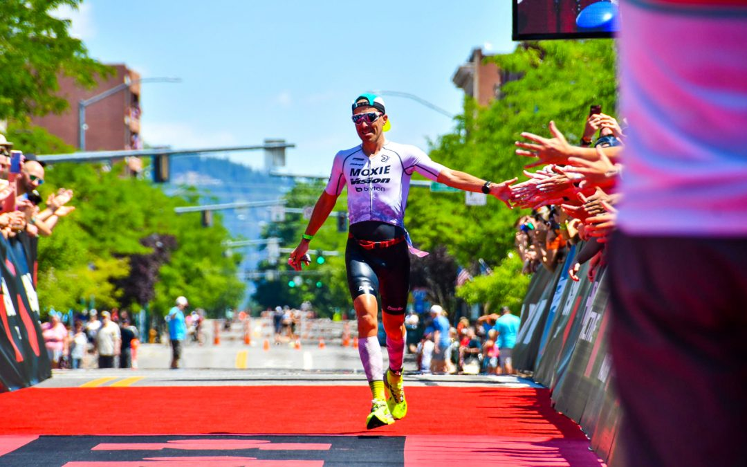 IRONMAN Coeur d'Alene 2021 – Pedro Gomes, 3rd place in 8h17